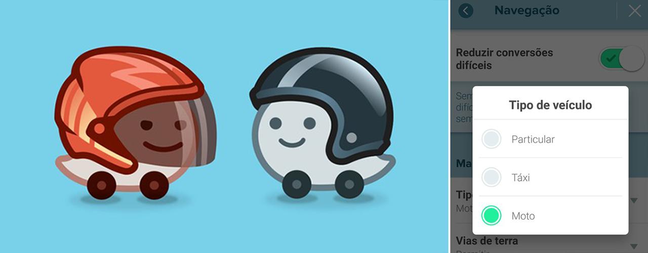 Novas funções do aplicativo Waze prometem facilitar a vida dos motociclistas