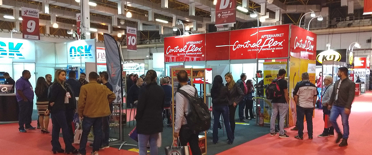 Controlflex marca presença em importante evento de Motopeças