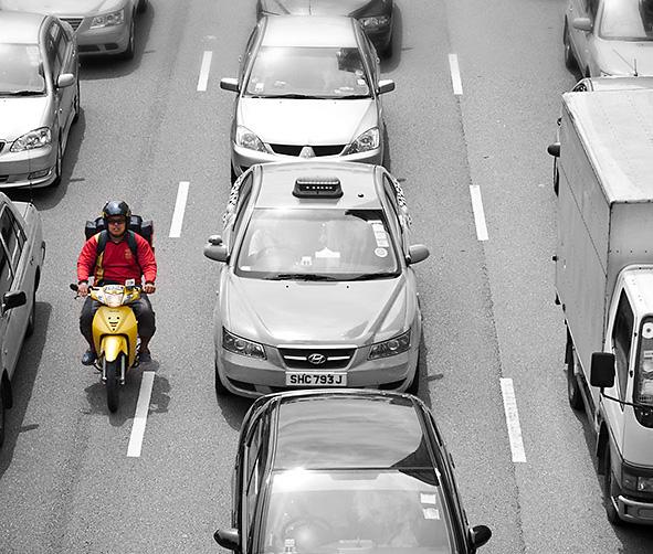 Como aumentar a segurança nas motos?