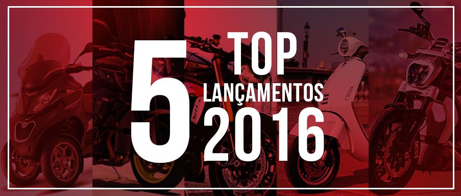 TOP 5 Lançamentos 2016